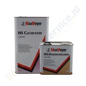 Max Meyer HS 0200 Blanke Lak Set Verfbestelservice