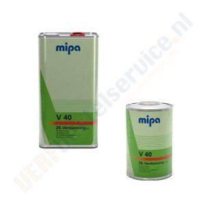 Mipa 2K Verdunner Traag V40 Verfbestelservice